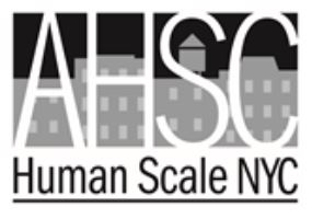 Alliance for a Human-Scale City logo